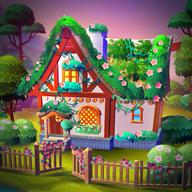 大农场家庭与花园